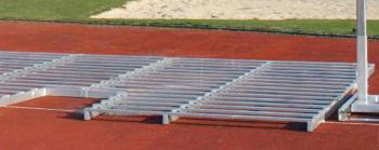 Alu-Rost für Stabhochsprungmatten 650 x 500 cm