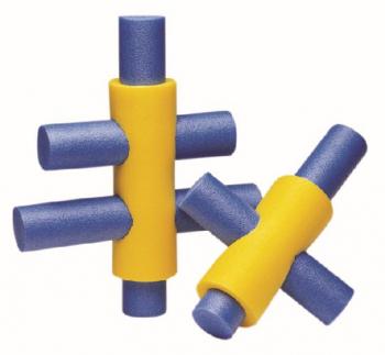 Verbinder für Poolnudel (4 Öffnungen)