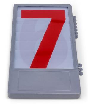 Zahlentableaux Nr. 0 - 9