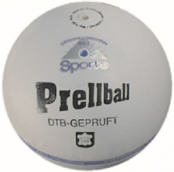 Prellball Profi, aus Rind-Nappaleder