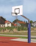 Basketballanlage 'Herkules' 165/120x90