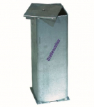 Deckel für Bodenhülse 160x160mm