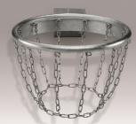 Basketballkorb, feuerverzinkt inkl. Kettennetz