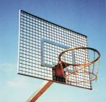 Basketball-Zielbrett aus Gitterrost (in 3 Größen)