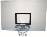 Basketball-Zielbrett aus Alu-Bordwandprofilen (in 3 Größen)