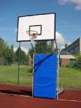 Basketballanlage Mobil aus Alu