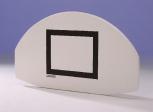 Streetball-Zielbrett 120 x 68 cm aus GfK, Fächerdesign