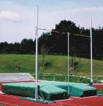 Stabhochsprung-Mattenanlage 530 x 400 x 40/80 cm