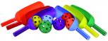 Flip Toss-/Schlagball-Set (6 Stück)