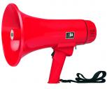 Megaphon mit 12 Watt (Reichweite bis zu 500 m)