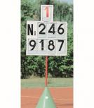 Anzeigetafel für Leichtathletik