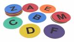 Bodenmarkierung Alphabet  A - Z