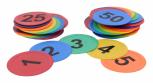 Bodenmarkierung Zahlen 1 - 50