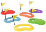 Golf Putting-Ziele (6er Set)