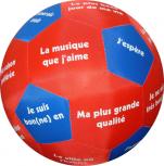 Lernspielball Balle de Conversation