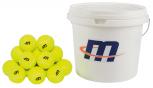 Tennisball-Eimer mit 48 Bällen