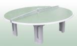 TT-Tisch RONDO (aus Polymerbeton)