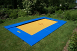Eurotramp Bodentrampolin Adventure (300 x 200 cm groß)