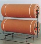 Mattenwagen für 2 Bodenturnmatten