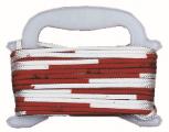 Faustball-Wettspielleine, rot/weiß