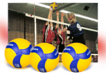 Volleyball-Wettspiel-Set