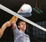 Volleyball-Schmettergerät