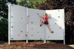 Boulderwand (aus Polymerbeton)