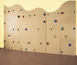 Boulderwand 6-teilig, Holz