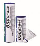 Badmintonbälle Mavis 350S, weiß