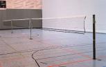 Badminton-Netzgarnitur