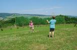 Badmintonnetz ''Hobby''