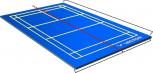 Victor Badminton-Court Mobil