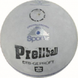 Prellball Original, aus Velourleder