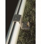 Kippsicherung (Bodenprofil 80 x 80 mm)