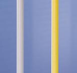 Eckstange Ø 50 mm weiß