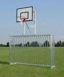 Bolzplatztor, 3 x 2 m, mit Basketballaufsatz