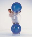 Stapelhilfe für Physiobälle