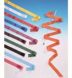 Gymnastikband, 4 m lang, 4 cm breit