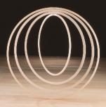 Gymnastikreifen Ø 60 cm, aus Holz
