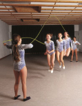 Double Dutch-Schwungseile