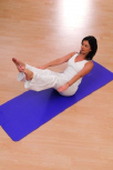 Airex Pilates- und Yogamatte, lila