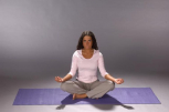 YogaMat Gymnastik- und Yogamatte, anthrazit